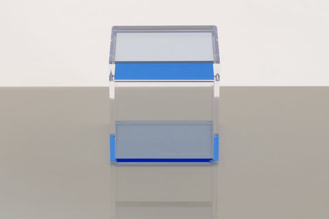 F440 | Cubic Treasure Box, Blue, M