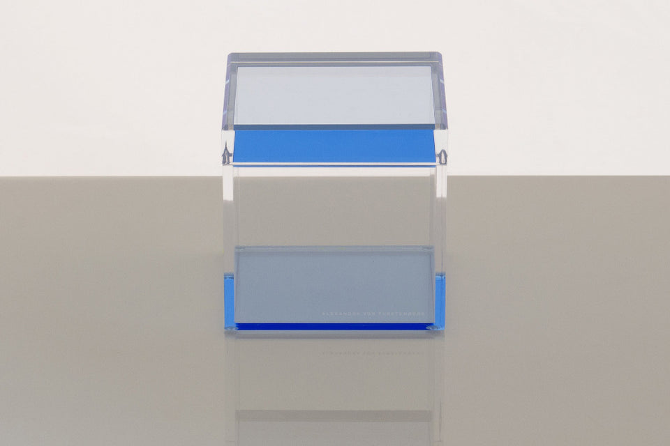 Cubic Treasure Box in Blue