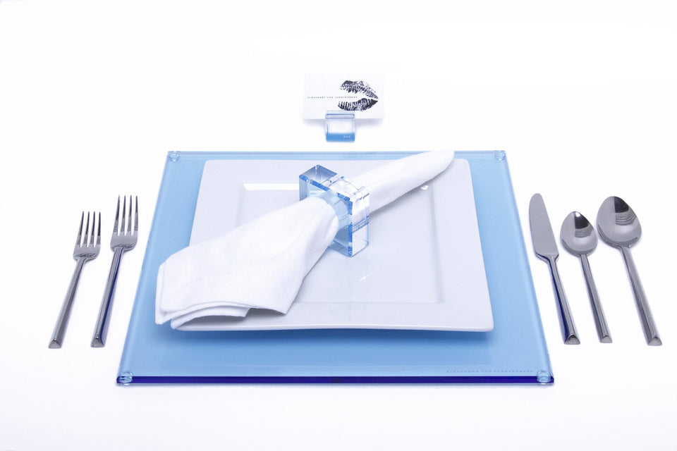 Square Placemat in Blue