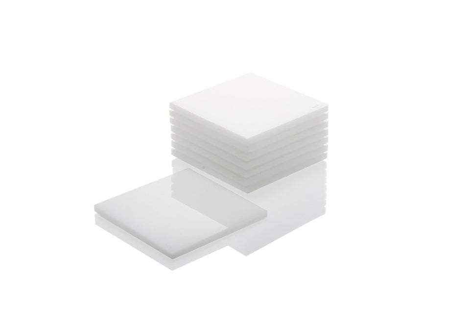 Coaster Set in White