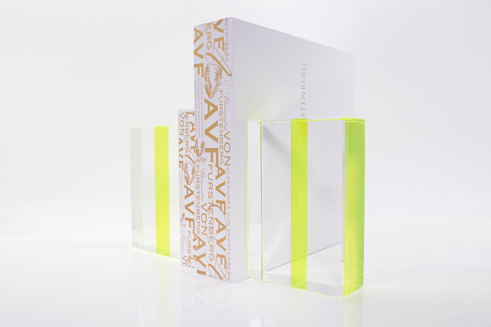 Chapter Bookends in Green