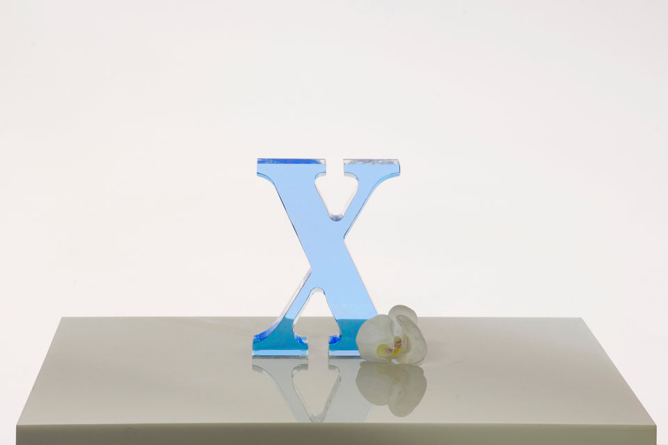 X Objet in Lagoon, Limited Edition