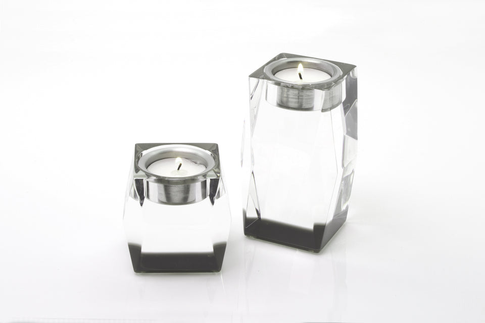 Candleholder in Slate Grey