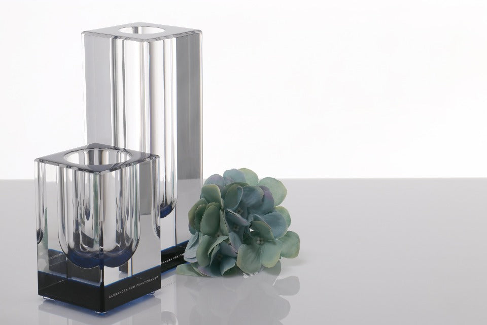 Bloomin' Vase in Sapphire