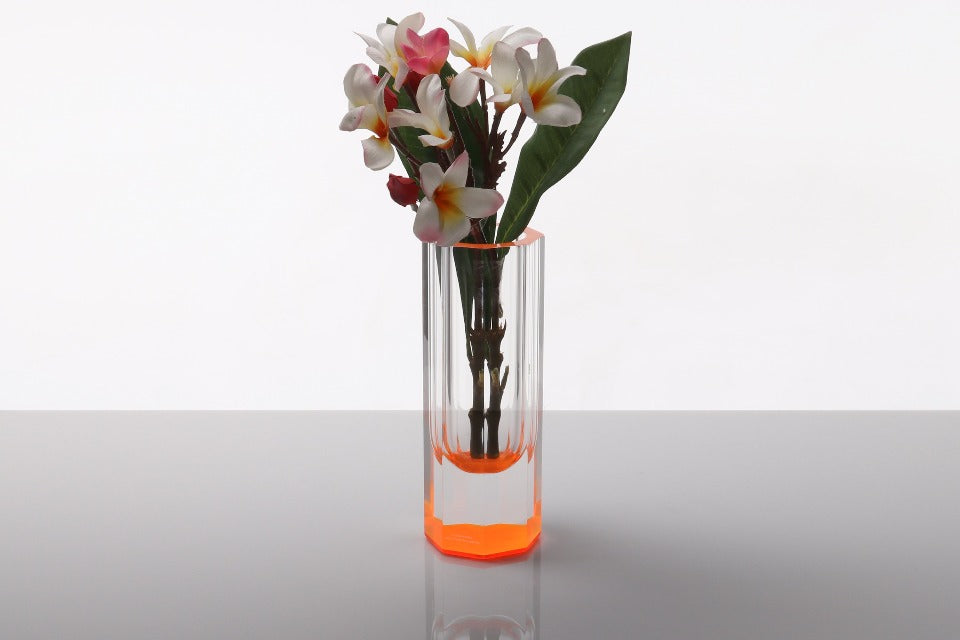Bolt Vase in Orange