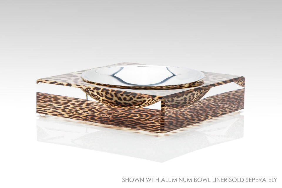 Candy Bowl in Leopard Print