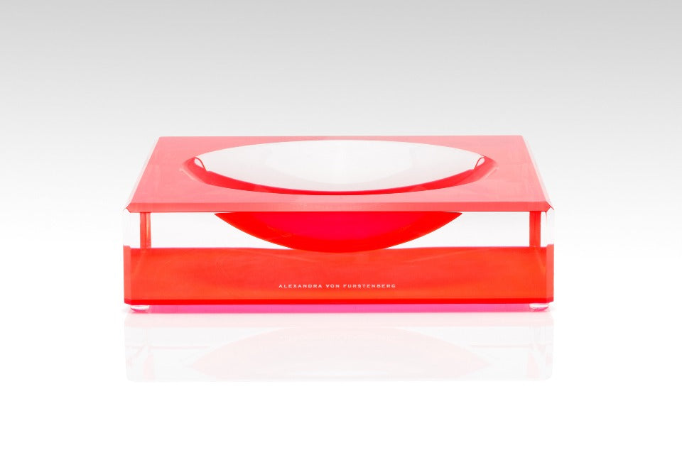 Candy Bowl in Red