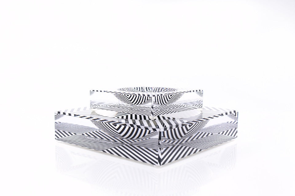 Candy Bowl in X Print