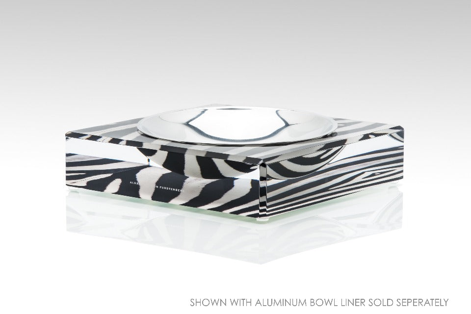 Candy Bowl in Zebra Print