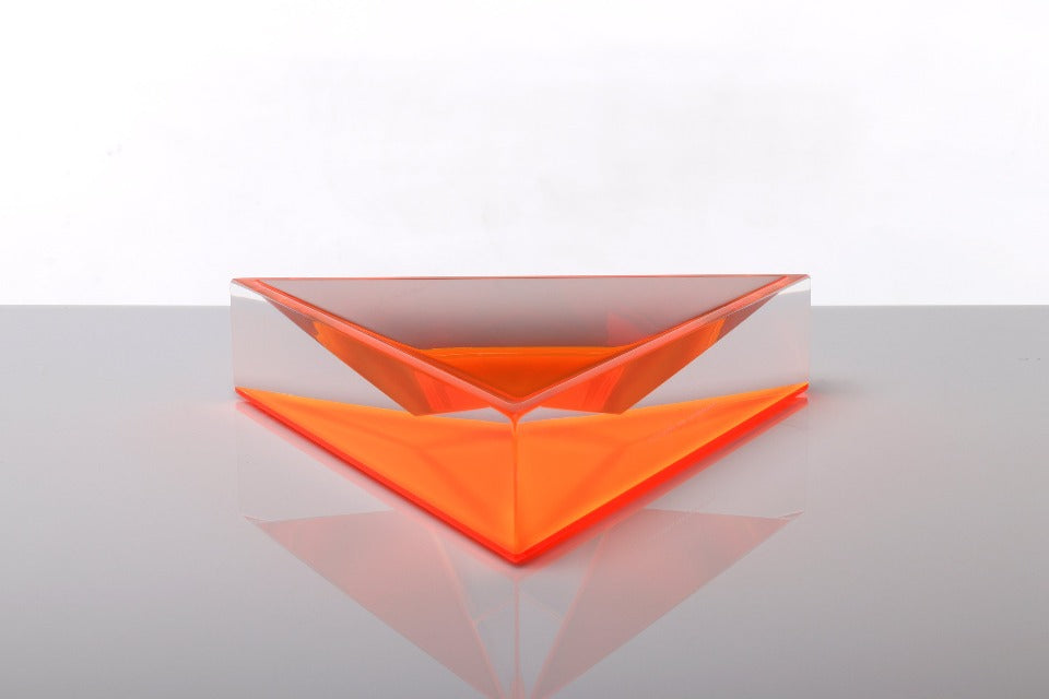 Delta Dish in Orange