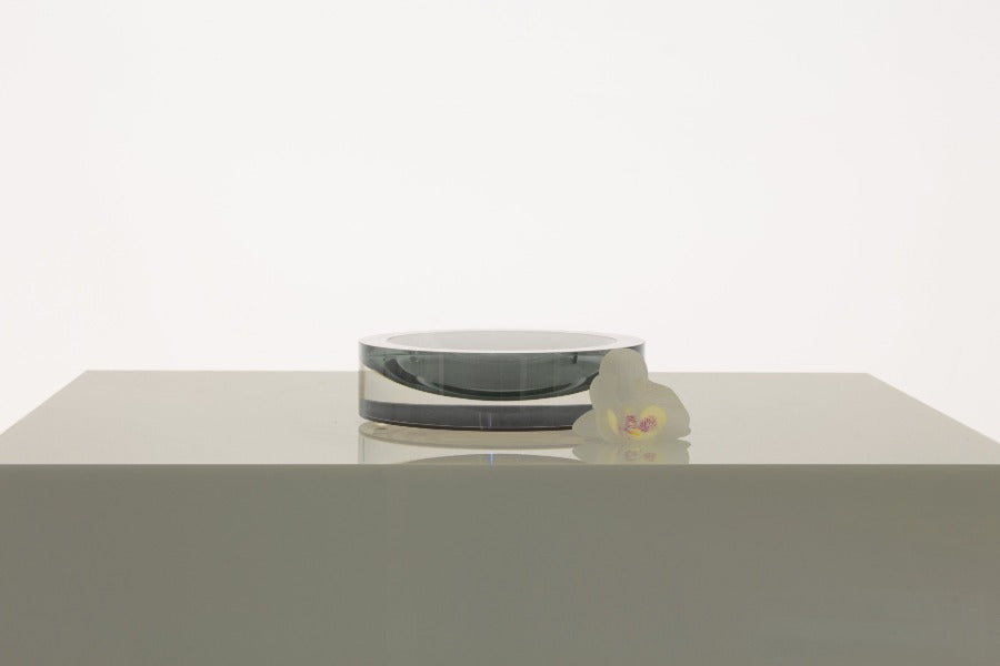 Infinity Bowl in Slate Grey