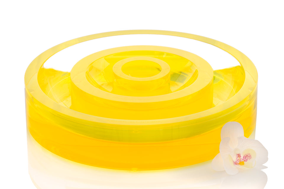 Infinity Bowl in Yellow