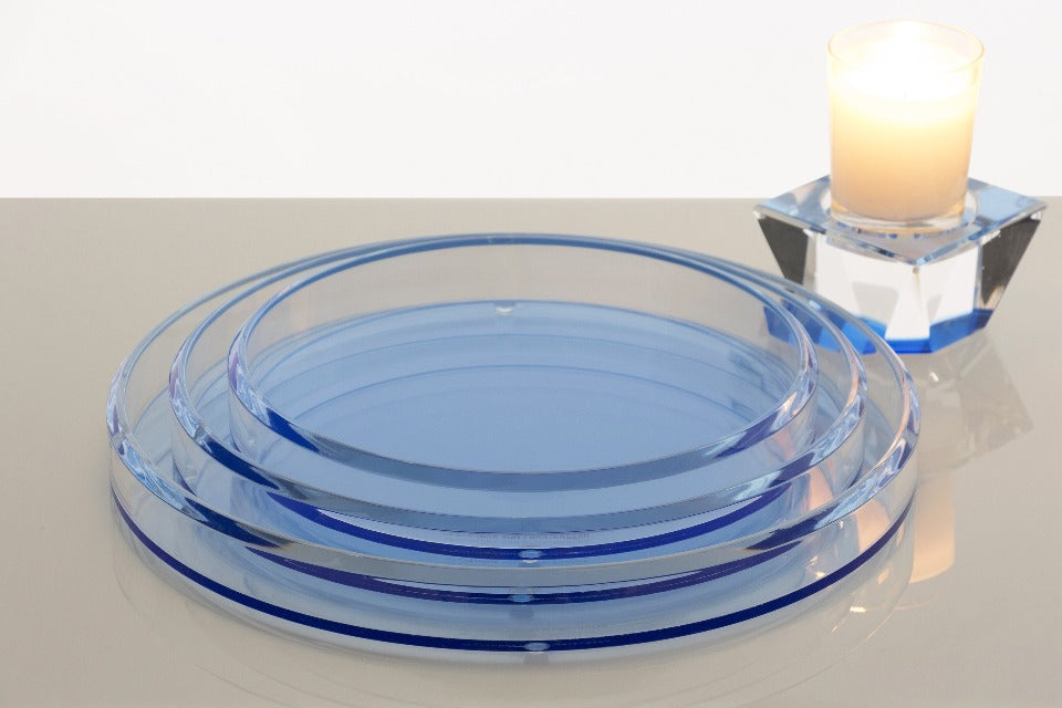 Infinity Nesting Trays in Blue