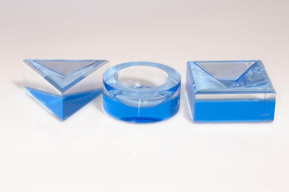 Square Mini Bowl in Blue