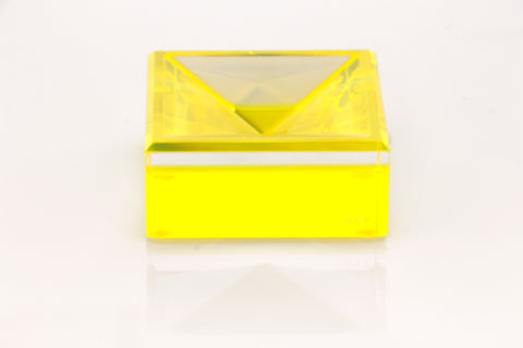F209 | Square Mini Bowl, Yellow, MN