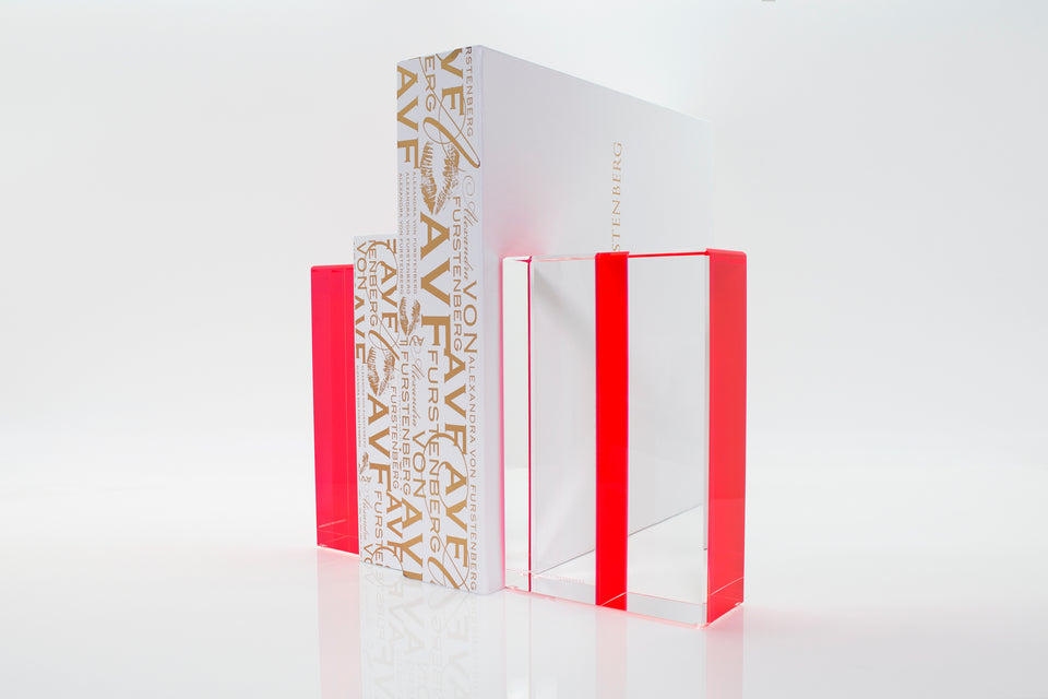 Chapter Bookends in Red