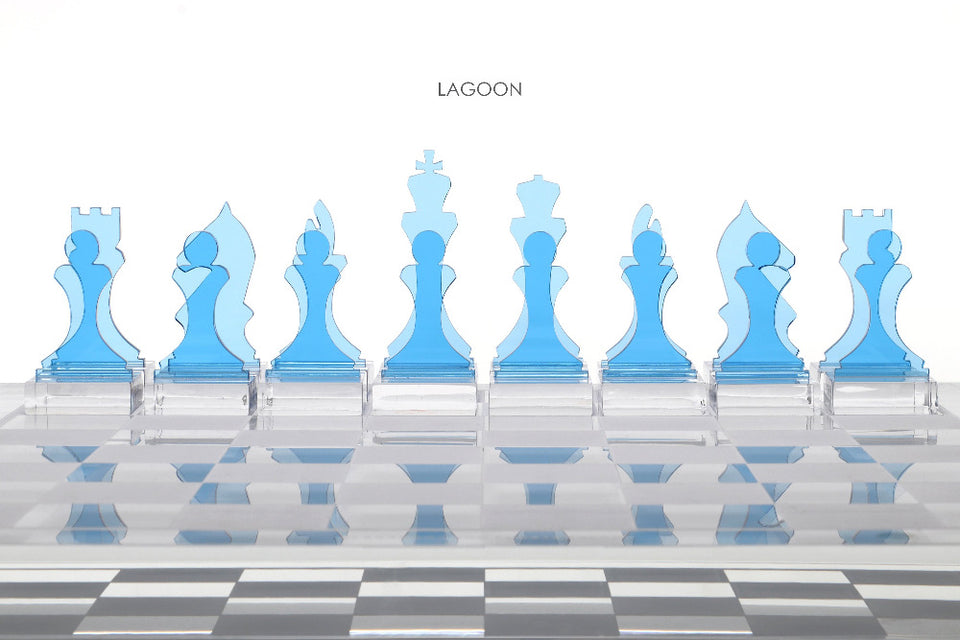 Lagoon Chess Piece Set of 16