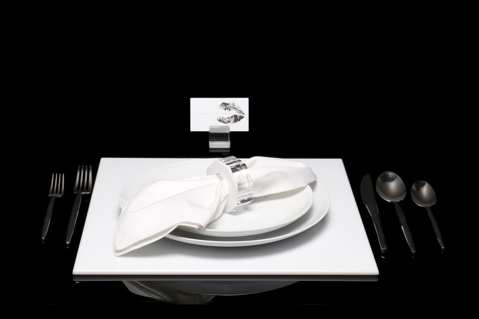 Square Placemat in White