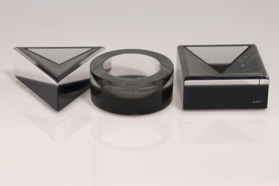 Square Mini Bowl in Slate Grey