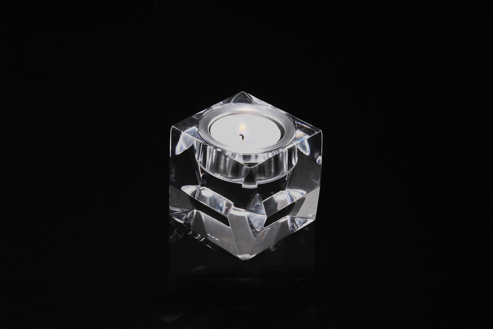 Candleholder in Clear