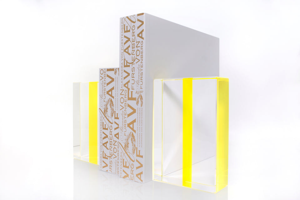 Chapter Bookends in Yellow