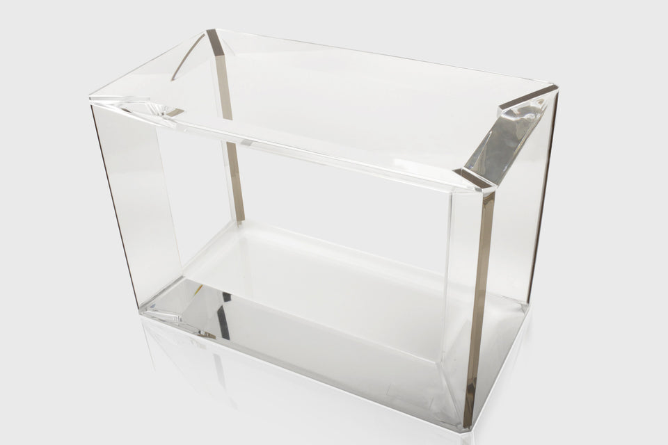Emerald Cut Side Table