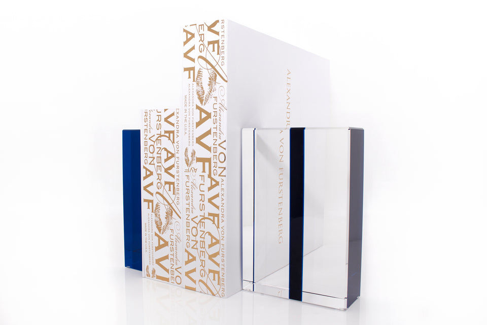 Chapter Bookends in Sapphire