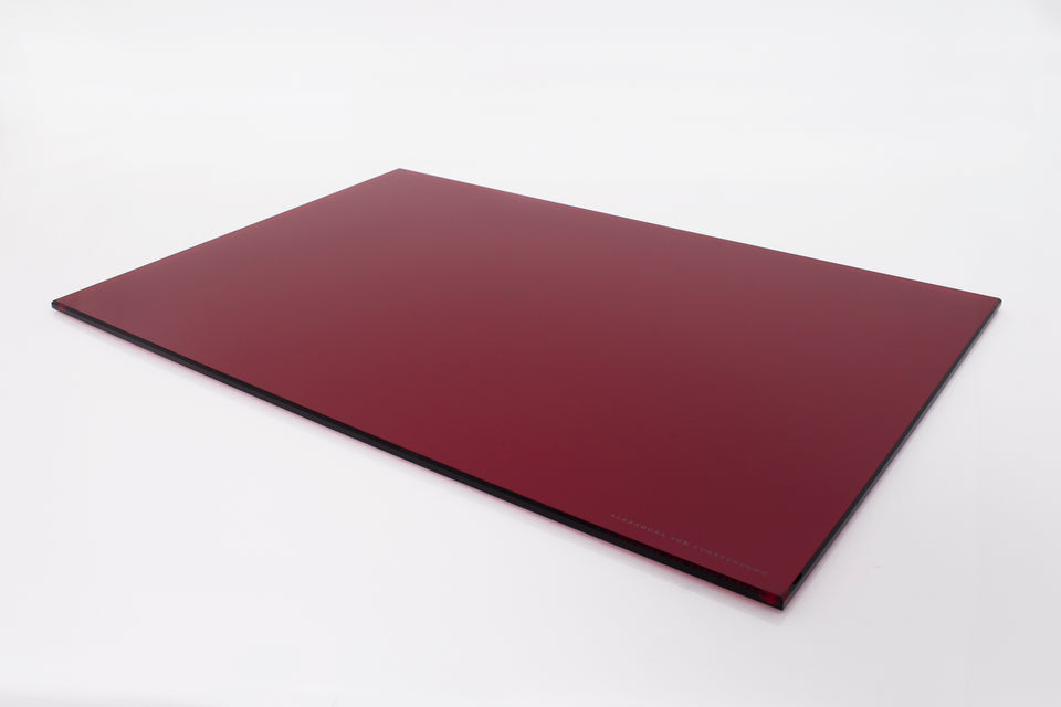 Rectangle Placemat Set of 4 in Ruby