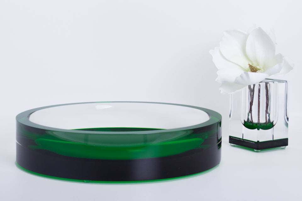 Infinity Bowl in Emerald