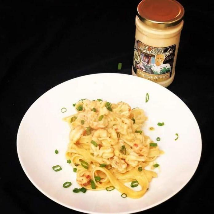 After Boil Crawfish Fettuccine-Cajun Crate & Supply