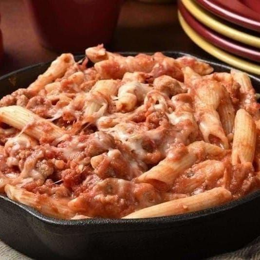 Baked Mostaccioli Recipe-Cajun Crate & Supply
