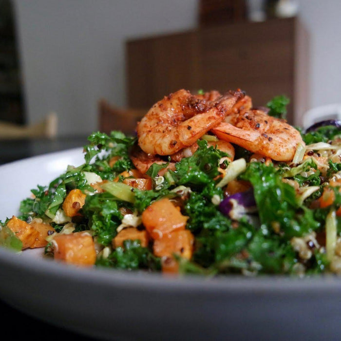 CRUCIFEROUS CRUNCH SHRIMP SALAD