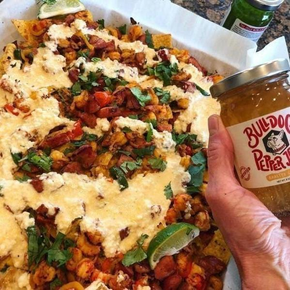 Garlic Pepper Jelly Crawfish Nachos-Cajun Crate & Supply