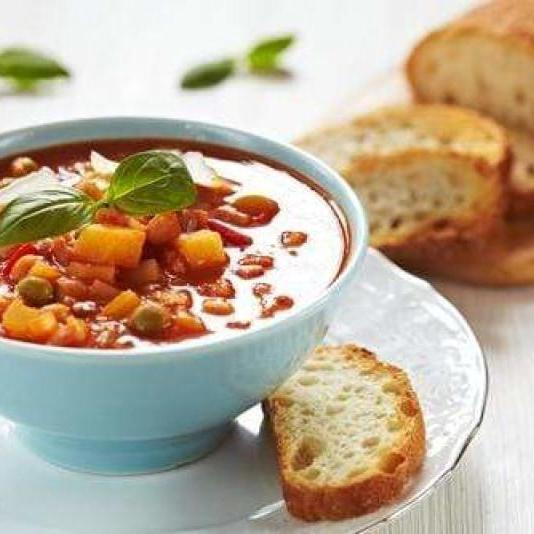 Heart Smart Minestrone Soup-Cajun Crate & Supply