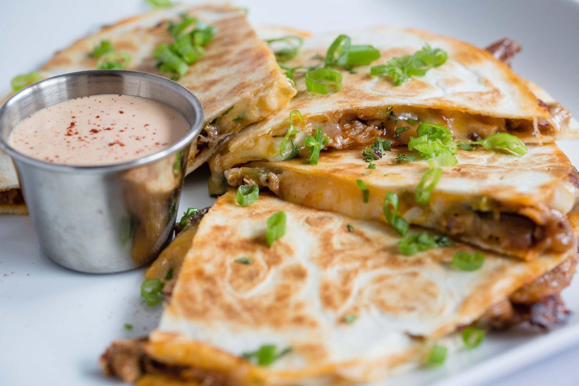 JAY D'S BARBECUE CHICKEN QUESADILLAS