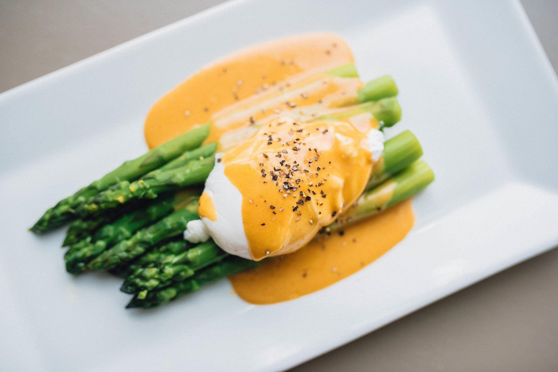 MOLASSES MUSTARD HOLLANDAISE