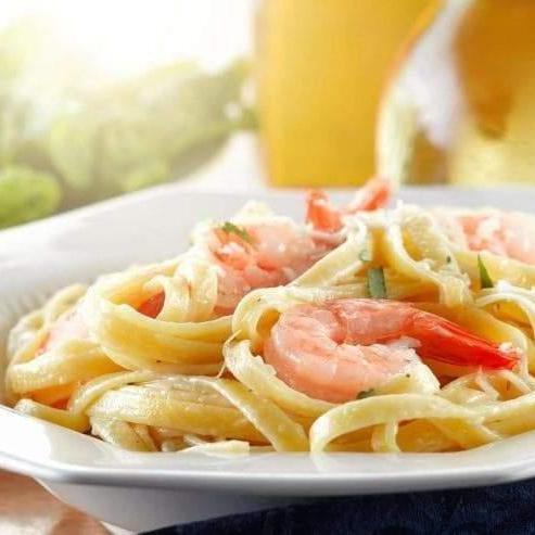 Sal & Judy's Shrimp Alfredo Recipe-Cajun Crate & Supply