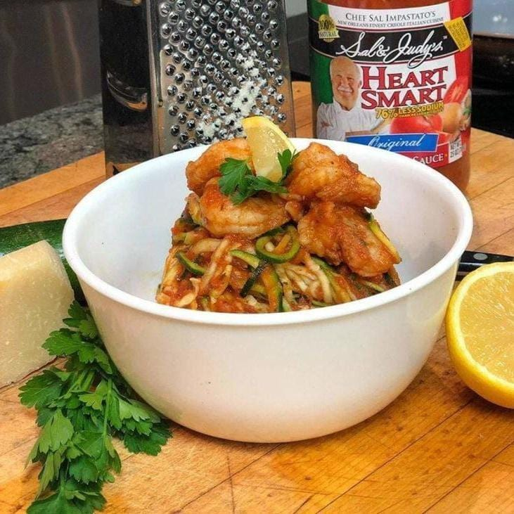 Shrimp Zoodles-Cajun Crate & Supply