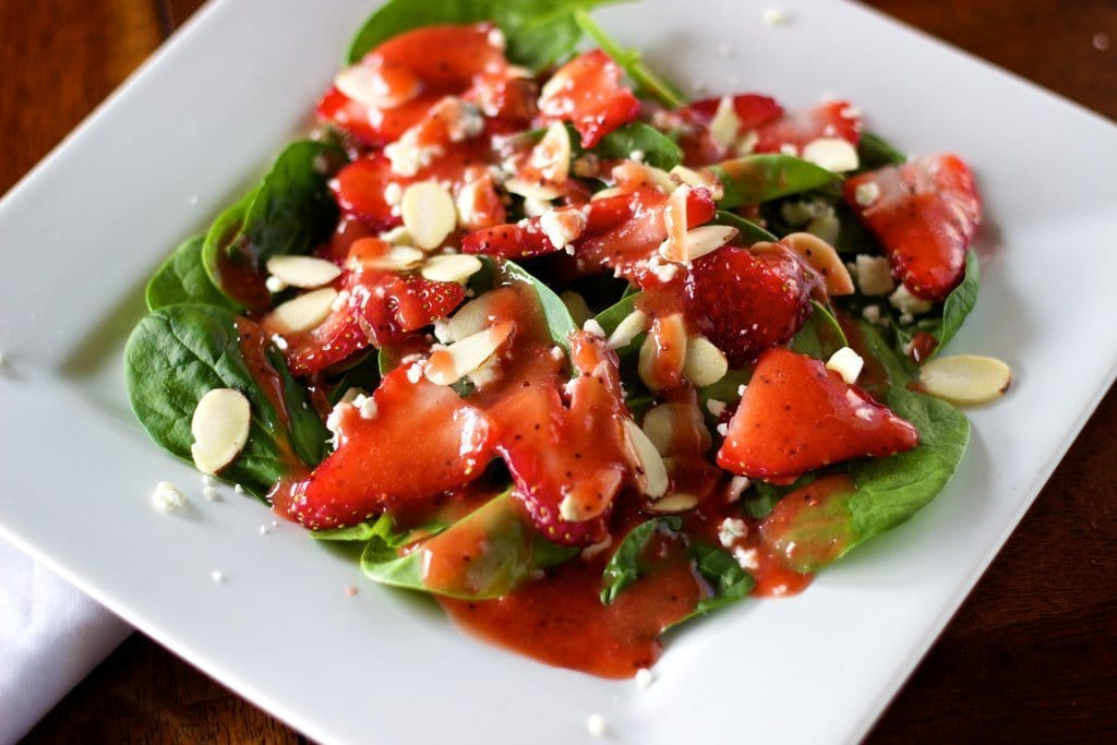Simple Strawberry Salad