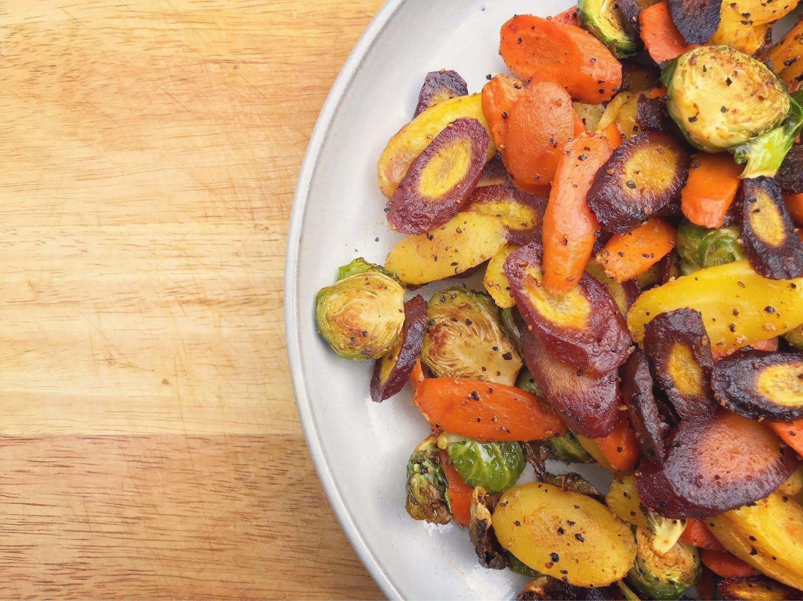 SMOKY, ROASTED VEGGIES