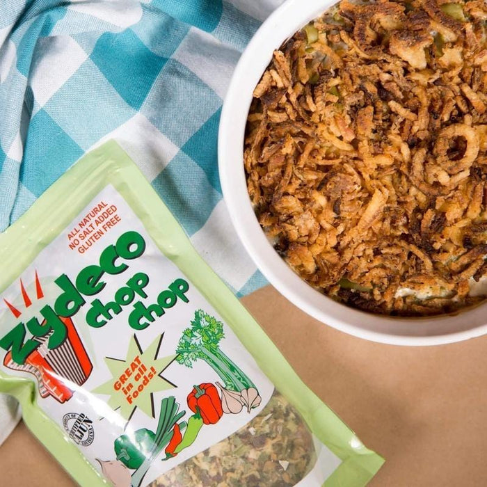 Zydeco Chop Chop Green Bean Casserole-Cajun Crate & Supply