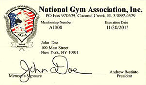 01.  NGA MEMBERSHIP - Amateur Athlete