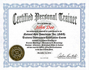 27.  NGA CERTIFIED PERSONAL TRAINER COURSE - USB Flash Drive