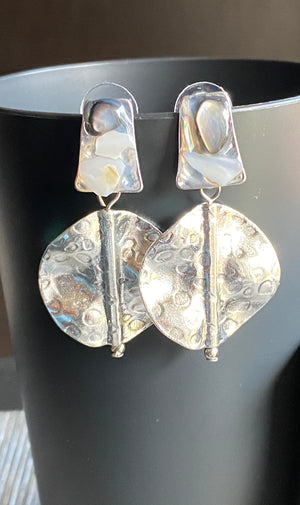 Every Little Piece of Me Disc Drop Earrings