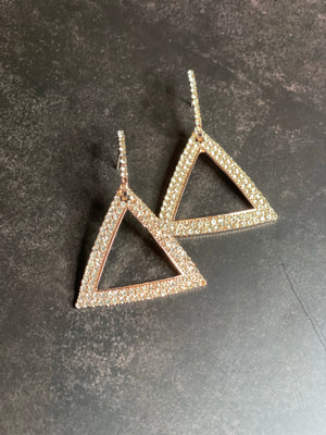 Bling Dangle Pyramid