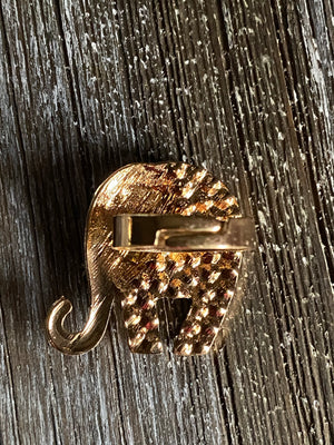 Shiny Blingy Elephant Ring