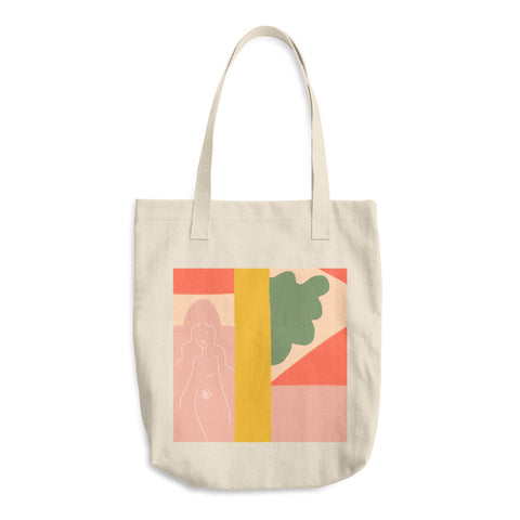SEASON 2 CNVS TOTE // BLUSH