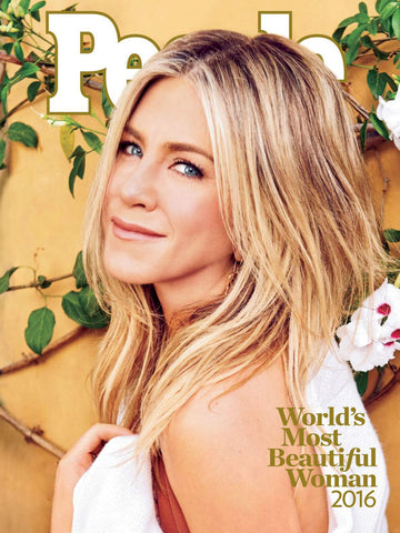 Jennifer Aniston, People Magazine, World's Most Beautiful Woman 2016