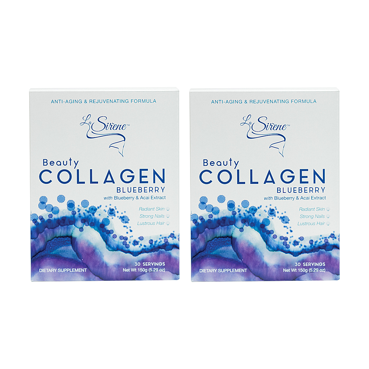 Blueberry Beauty Collagen - Forever Young Duo - La Sirène