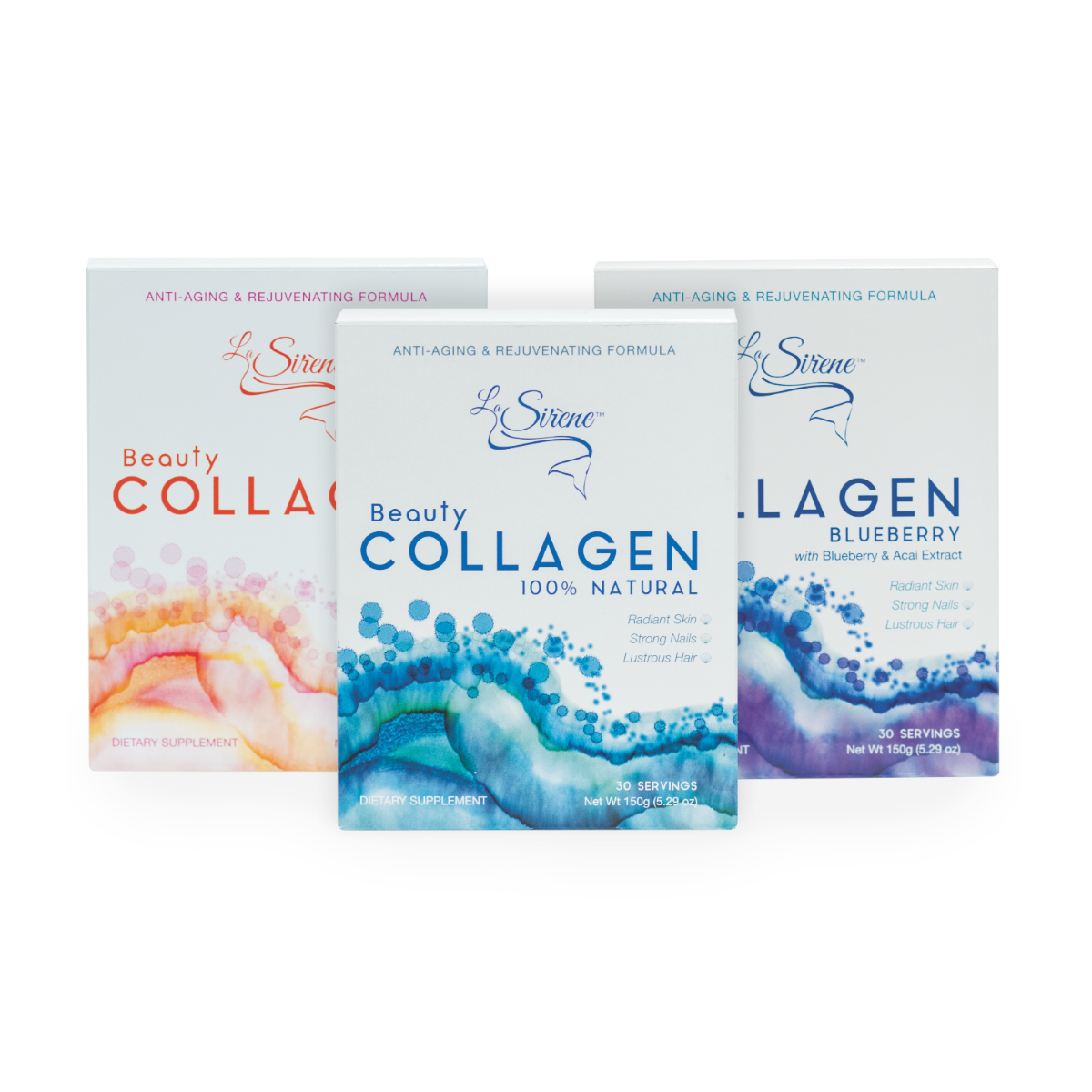 Treasure Collection - La Sirene Beauty Marine Collagen,